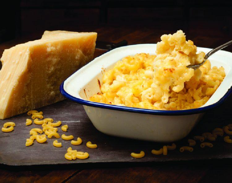 トリュフ風味のマカロニチーズ