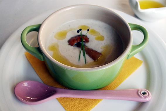 キノコのスープ ポルチーニ風味