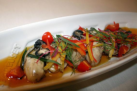 牡蠣のオイルマリネ