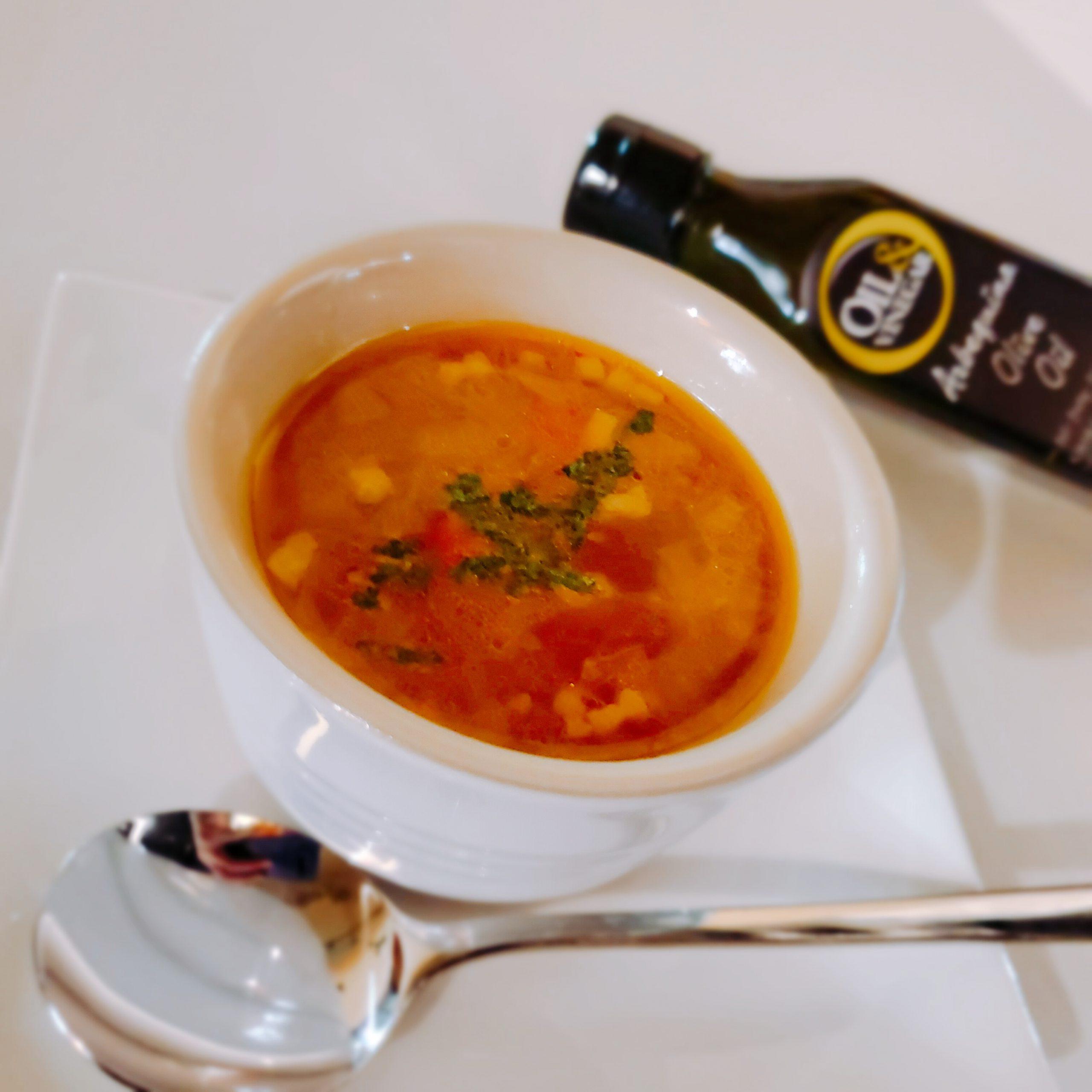 野菜のブイヨンスープ