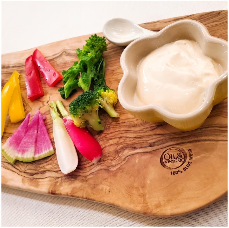 豆腐とオイルで濃厚マヨネーズ風